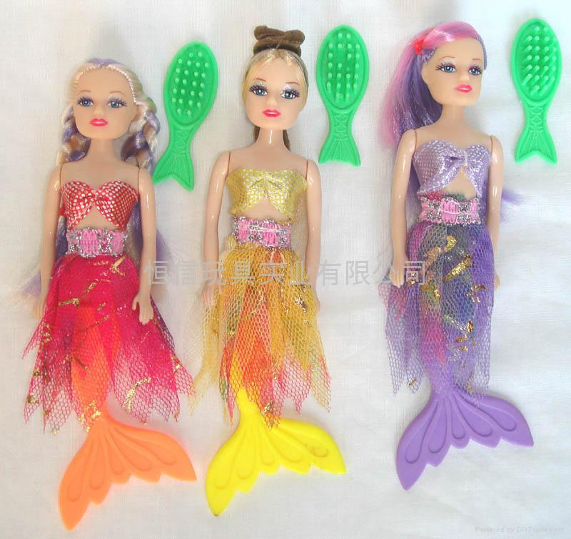美人魚芭比娃娃 5