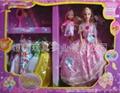 芭比娃娃,大小二娃+7套衣服