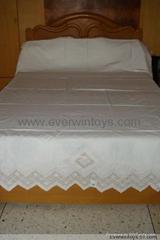 抽紗工藝品繡花床單