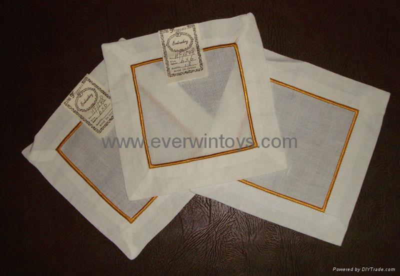 绣花餐巾餐垫