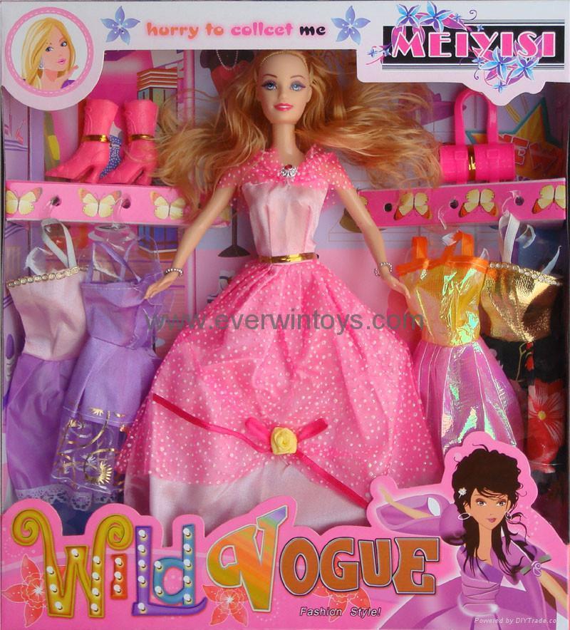 芭比娃娃換裝系列 3