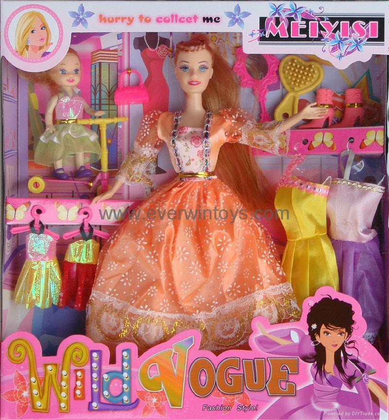 芭比娃娃換裝系列 4