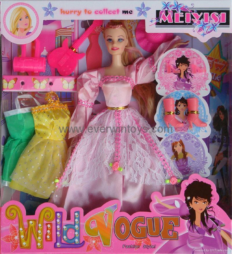 芭比娃娃換裝系列 5