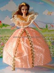 barbie doll wedding clot