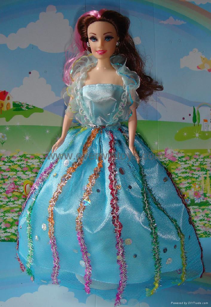 芭比娃娃婚紗裙 2
