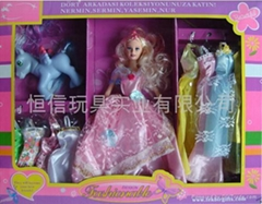 PLASTIC BENDABLE DOLL