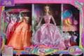 bendable dolls w/7 dress