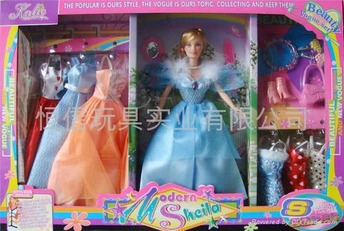 barbie made in china