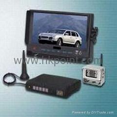 wireless car rear view system