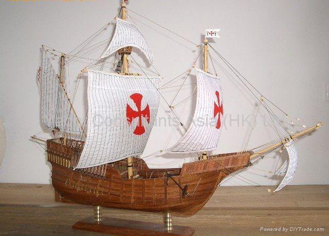 Becy: Diy wood model boat