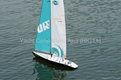 RC Sailboat Hurricane 1000