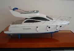 1M Custom Scaled Yacht Model