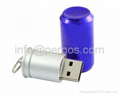 Cans USB flash drive