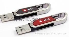Classical Leather USB flash drive 3