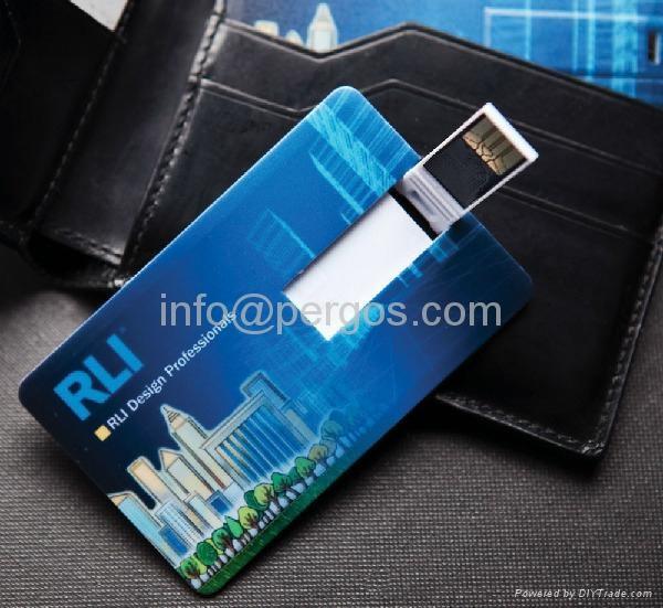 Credit card USB stick 4