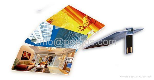 Credit card USB stick 5