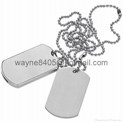 Metal dog tag USB stick