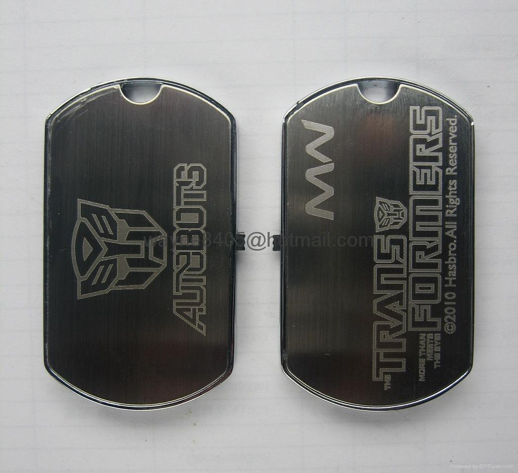 Metal dog tag USB stick 5
