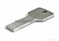Key shape USB flash drive