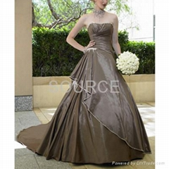 wedding dress D08005