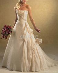 wedding dress D08001