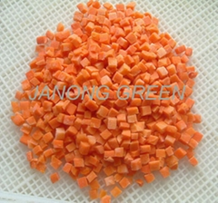 Frozen Carrot Dice