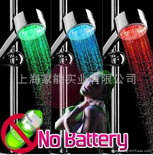 Color Control led Shower Head W/CE,RoHS (LH-006) 3