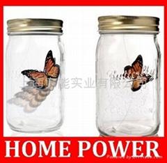 電子蝴蝶罐