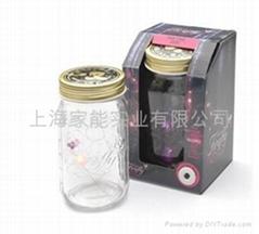 電子螢火虫罐