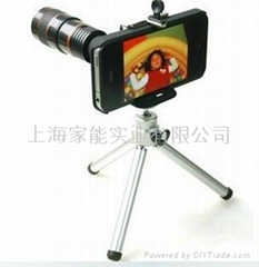 For Smartphone iPhone 4 4G 8X zoom Telescope Lens, For iPhone4 Zoom Lens