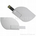 Leaf usb flash drive