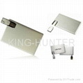 Credit card usb driver usb stick usb flash memory stick