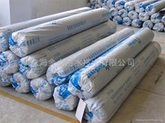 JL-A self-adhesive waterproof sheets with humid paving construction