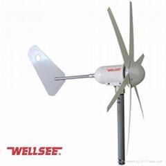WELLSEE Wind Turbine (6 blades horizontal axis wind turbine)WS-WT400W