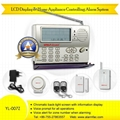 Auto-dial LCD Display Intruder Alarm