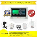 Wireless GSM Home Alarm System with