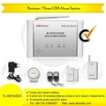 Wireless GSM Security System with