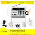 intruder alarm with 32 defense zone &