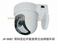 Day & Night IP Dome Camera with Pan Tilt