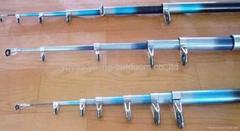 TELEscopic fishing rod and reel