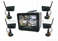 "7"" H.264 DVR with screen"
