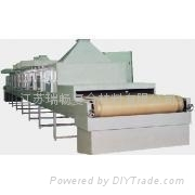 Microwave drying PTFE belt or mesh belt