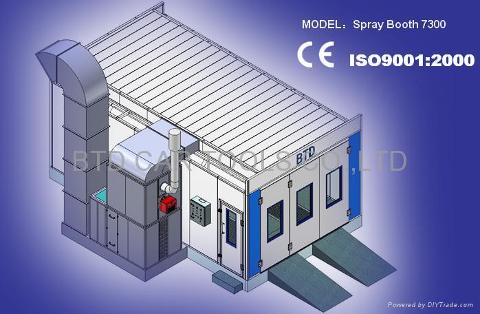 Spray Booth 7300 1