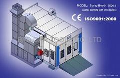 spray booth  BTD 7500-1