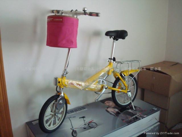飛毛腿磁動車一型四款折疊電動車 4