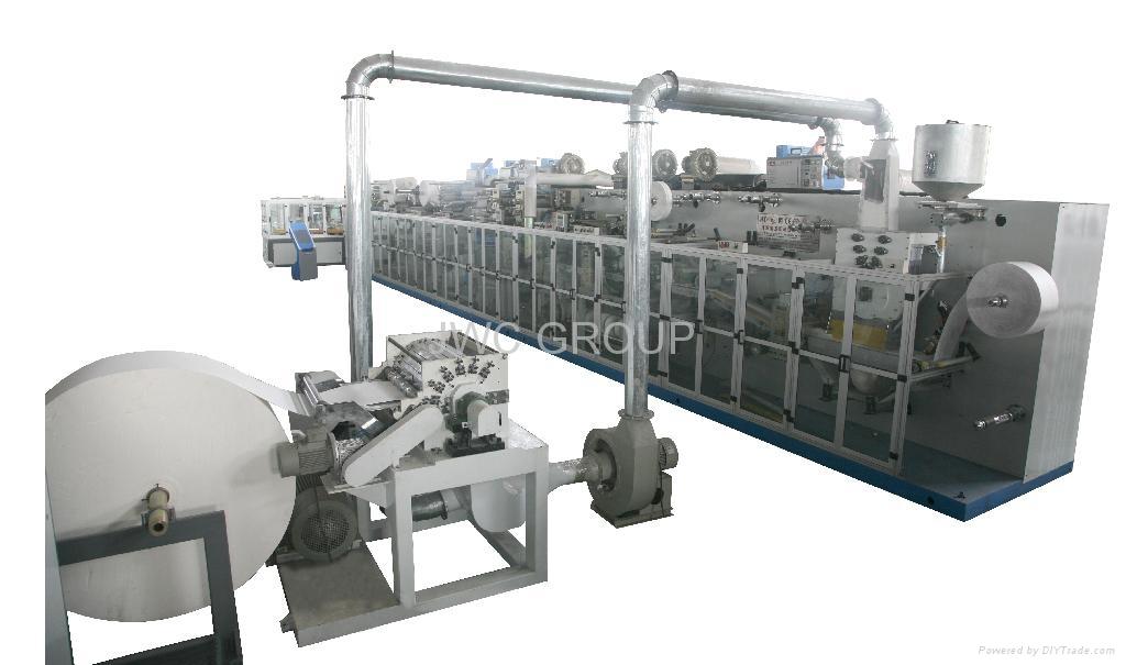 High-Speed Baby Diaper Machine300PCS/MIN 1