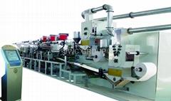 雙層棉芯嬰儿尿褲生產線100-150片每分鐘