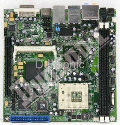 Duosonic Mini-ITX motherbord  DS965GM HD-2G 1