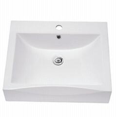 artificial stone basin