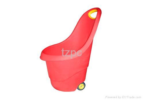 Charmant Plastic Handcart,push Cart,garden Cart ,barrow,trolley